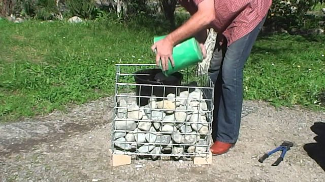How to build gabion planters NZ