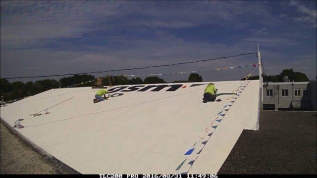 Rooftop Logo – GSM Roofing Garage