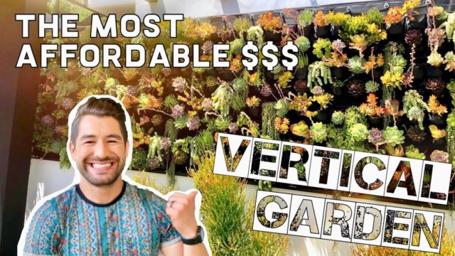 THE MOST AFFORDABLE VERTICAL GARDEN – IKEA HACK