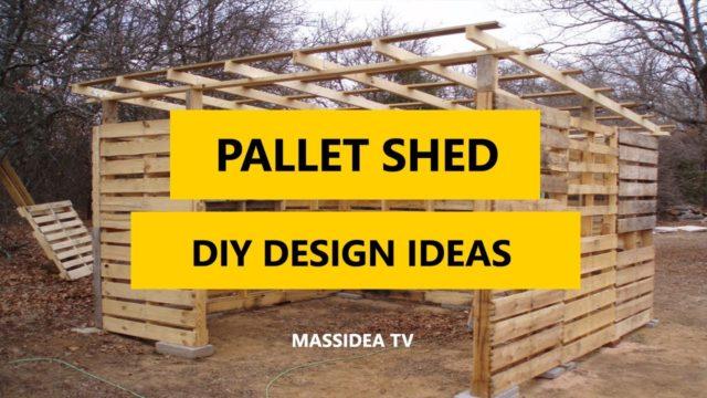 45+ Best Pallet Shed DIY Design Ideas 2018