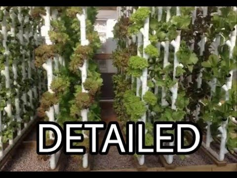 How to , Detailed Vertical Hydroponics