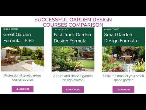 Successful Garden Design Courses Comparison