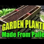 Simple Garden Planter Made From Pallets