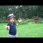 A LITTLE GARDENER'S RAIN DELAY ON GARDEN DAY- GARDENING WITH KIDS