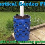 ⟹ DIY 55 gallon self watering vertical garden planter | How to build start to finish!