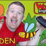 Garden Animals |  Stories for Kids from Steve and Maggie | Learn ESL Story Wow English TV