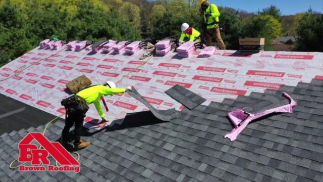"BROWN ROOFING AWARD BY ""BEST OF THE BEST"""