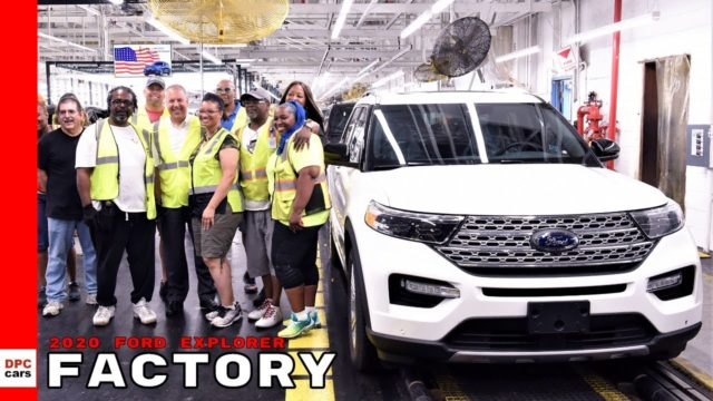 2020 Ford Explorer Factory At Chicago Plant