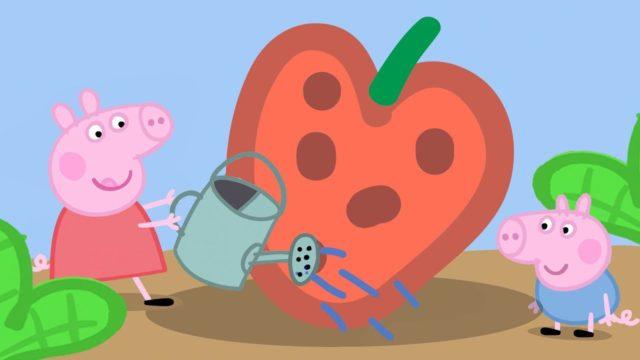 Peppa Pig Season 1 Episode 10 – Gardening – Cartoons for Children