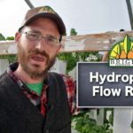 Flow Rates in Hydroponic Systems