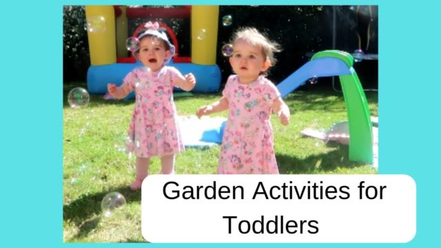 Fun Garden Play Ideas for Toddlers | Outside Play Ideas for Toddlers | Fun Free Ideas for Kids