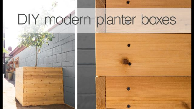 How To Build a Planter Box | Easy DIY Woodworking Project