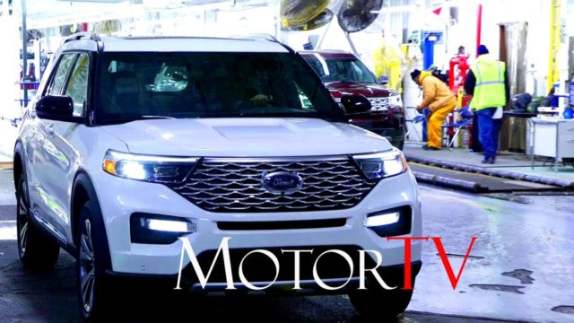 CAR FACTORY : 2020 FORD EXPLORER Assembly Line l Chicago Assembly Plant