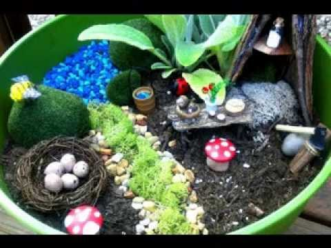 Kids garden decorations ideas
