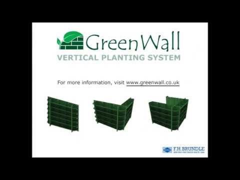 GreenWall Vertical Planting System