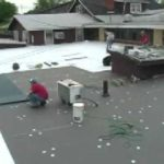 Conklin's  HyCrown Single Ply Roof Coating System