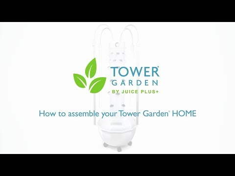 How to Set Up Your Tower Garden HOME: Step-by-Step Assembly Instructions