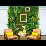 DIY Faux Living Plant Wall – Home & Family