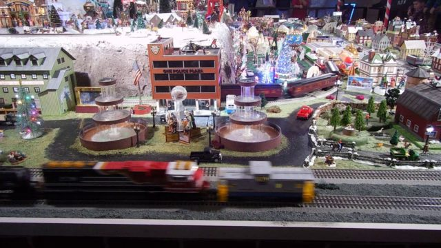 Train Garden at the local Volunteer Fire Dept