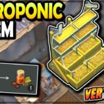 Building the NEW HYDROPONIC SYSTEM (extremely rare) – Last Day on Earth Survival