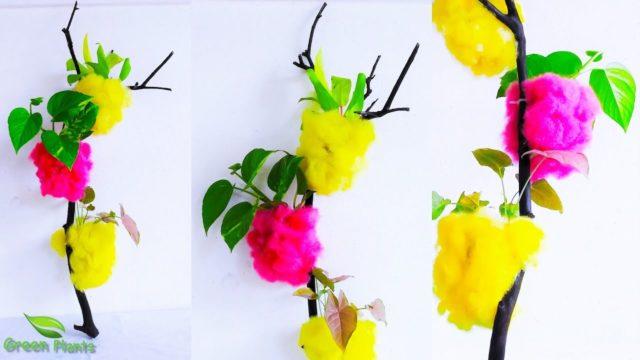 Wall Hanging Planter-Simple Garden Idea-DIY Planter Idea-Showpiece for Decoration //GREEN PLANTS