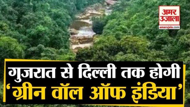 Green Wall Of India | Environment को बचाने के लिए Gujarat-Delhi तक बनेगी ग्रीन वॉल ऑफ इंडिया