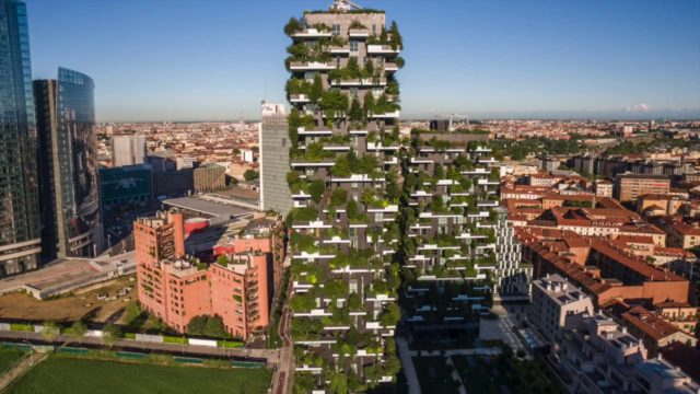 Bosco Verticale (Vertical Forest), Milan – Project of the Week 1/15/18
