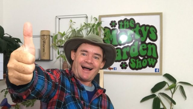Organic Gardening Marty's Garden is Live Q&A