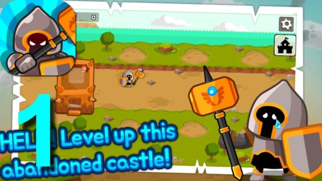 Grow Tower: Castle Defender TD Walkthrough Part 1 / Android iOS Gameplay HD
