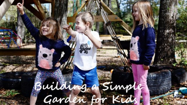 How to Build a Simple Garden for Kids