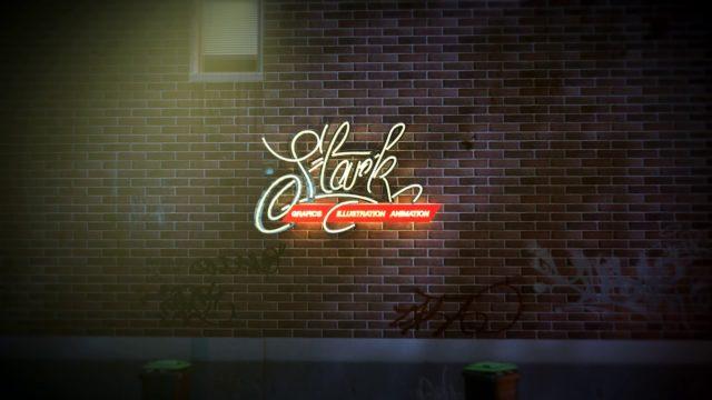 STARK GRAFICS LOGO ROOF