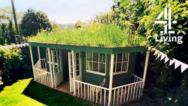 Building Cricket Pavilion with Grass Roof in Your Garden | George Clarke's Amazing Spaces