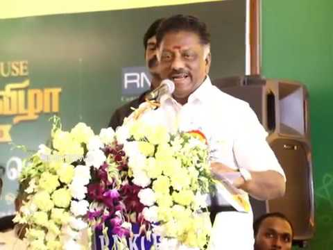 TN Dept CM OPS | THE CLUB HOUSE OF RMK CHOLA GARDENS | DEPUTY CM MR O.PANNEERSELVAM | OPS | SPEECH