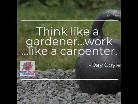 Think Like a Gardener – Work Like a Carpenter