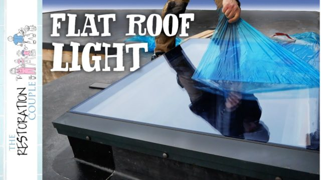 Fitting the New Roof Light