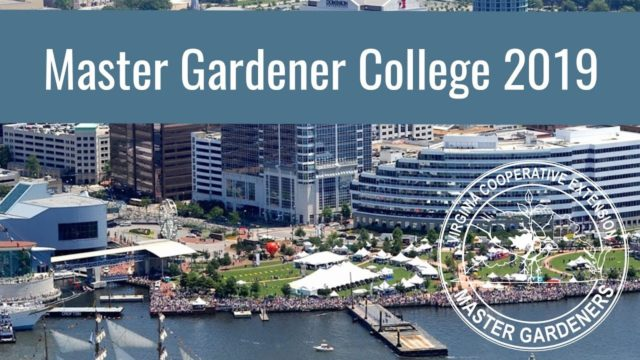 Master Gardener College 2019 Preview