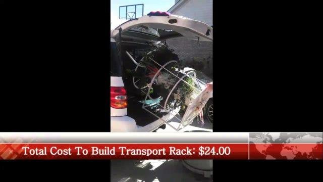 Tower Garden Vehicle Transport Rack