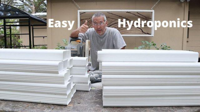 Gutter Garden Galore / DIY Hydroponics