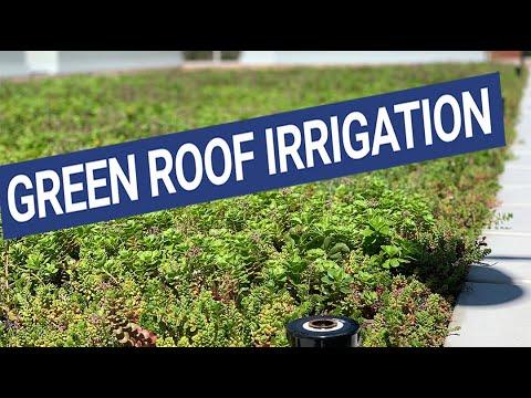 Soil Moisture Sensors for Green Roof Irrigation