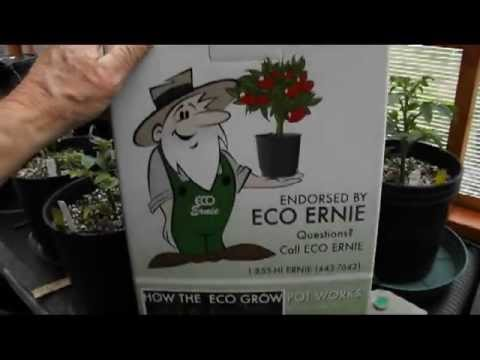 The Eco Grower System – Grow Hydroponically with organic soil!