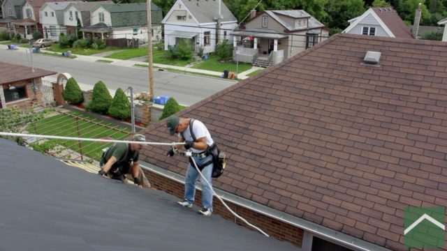 The precautions we take when walking & working on your roof