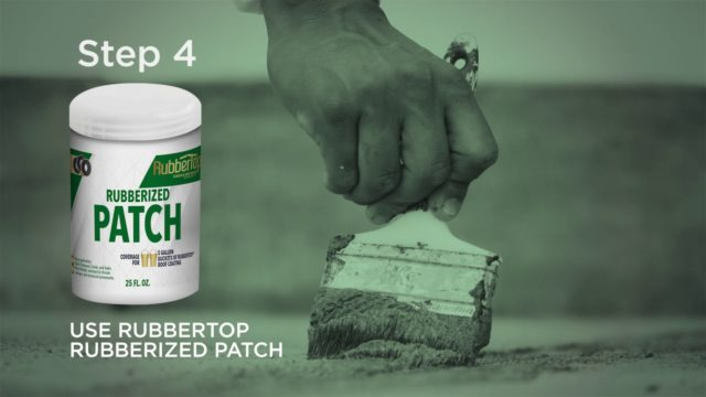 HOW TO APPLY ECO FRIENDLY RUBBERTOP® ROOF COATING