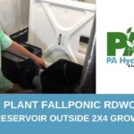 2 Plant Fallponic Waterfall Hydroponic System