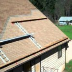 How to Apply Roofing to a steep roof