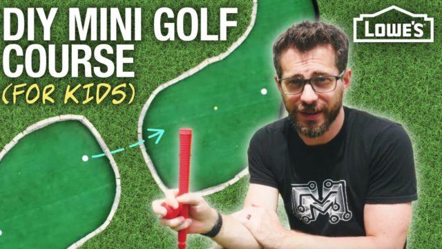 How to Build a Kid's Mini Golf Course (w/ I Like To Make Stuff)