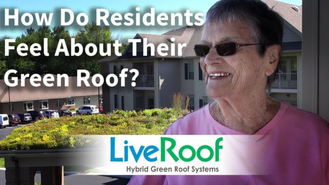 Green Roof Enjoyed by Senior Living Residents