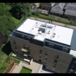Drone Footage of Green Roof and Structural Waterproofing at Kew Bridge, London