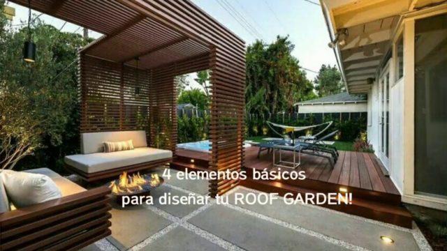 Roof Garden; 4 criterios básicos!