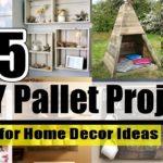 DIY | 75 DIY Pallet Project for Home Decor Ideas