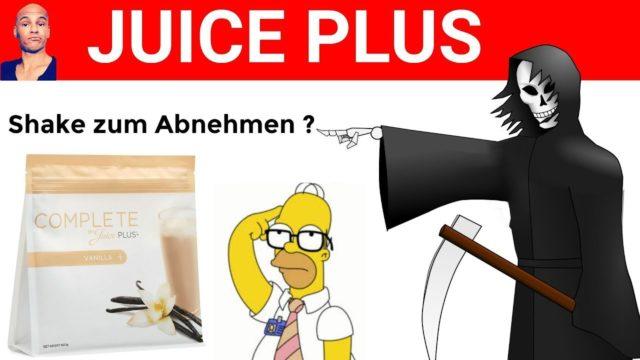 JUICE PLUS komplette ABZOCKE ⁉️ Protein Shake zum ABNEHMEN ❓